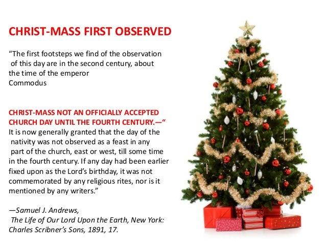 Christ-mass