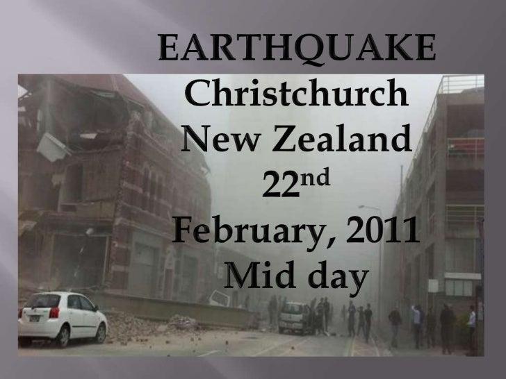 Christchurch New Zealand Twitter: Christchurch Earthquake Feb 2011