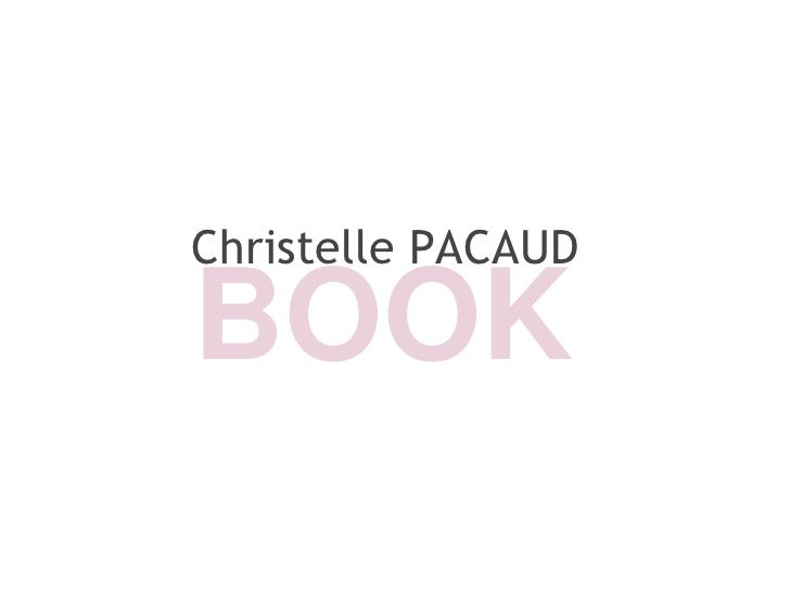 Christelle PACAUD  BOOK