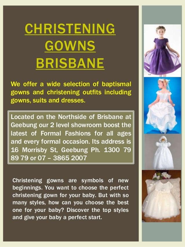 Christening Gowns Brisbane