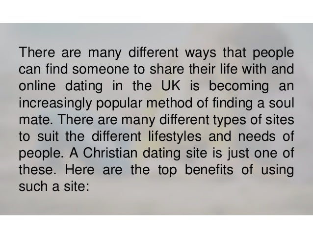 Number 1 christian dating site