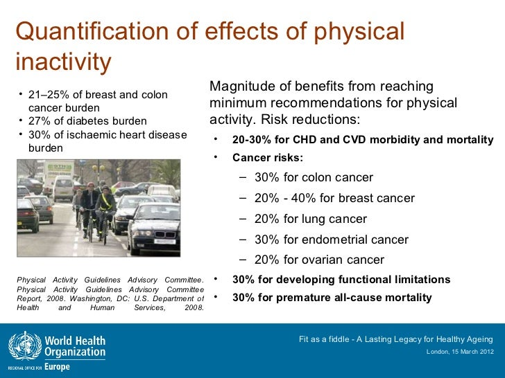 department of health and ageing physical activity guidelines