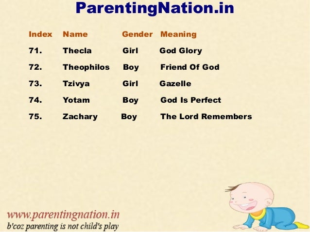 Christian Baby Boy Names With Meaning Gift Of God #1508393859 ...