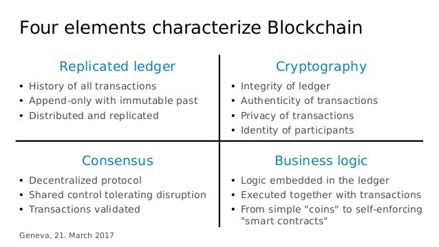 Blockchain distributed systems