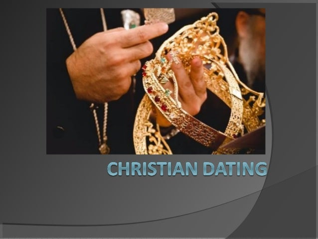 Dating definition christian