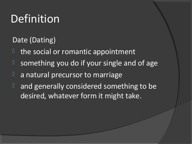 What age to start dating christian