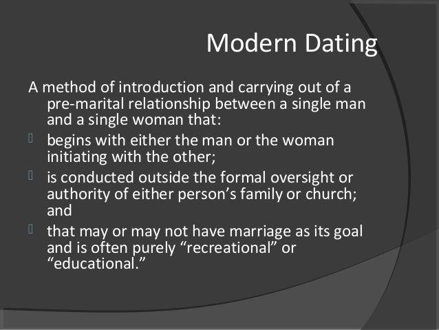 Is recreational dating biblical