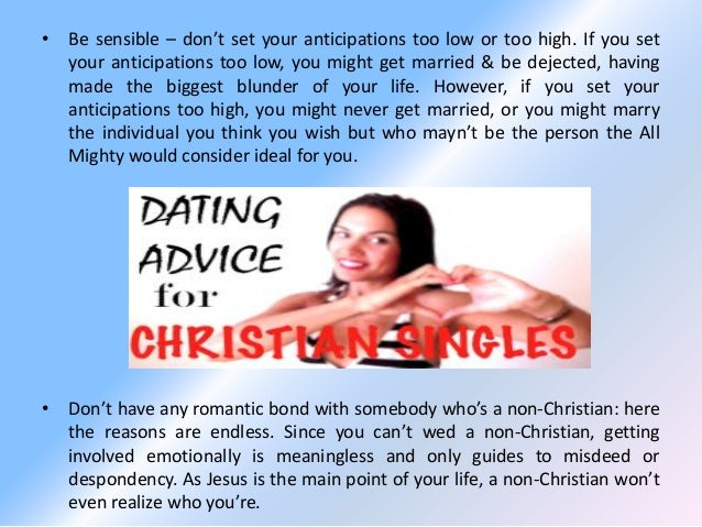 16 principles for christian dating