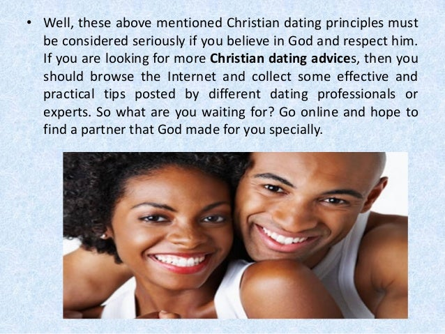 Principles for christian dating