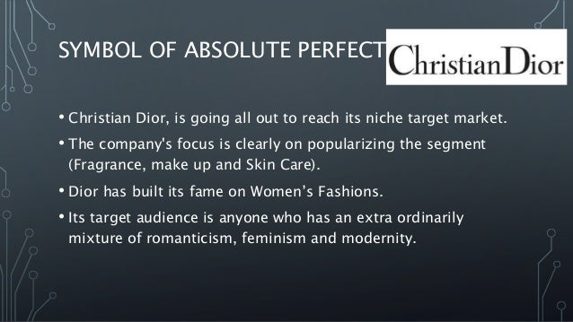 targeting positioning and segmentation of christian dior Dior produced a few hundred of the limited edition bags for the campaign, but due to high customer demand, we sold out in a day, said a staff member of christian dior wechat greatly contributed to the campaign's online success.