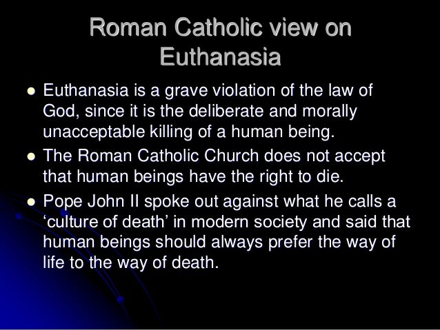 an analysis of the morality behind the act of euthanasia As it turns out, once we analyze suicide properly, we will see that its moral  we  can apply the same sort of analysis to euthanasia and see that it too is wrong for  more or  that murder tends to be the paradigmatic example of a morally evil act.