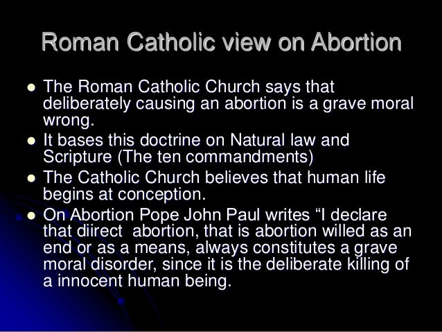 a christian viewpoint of abortion The christian views on abortion can seem, at first glance, to be conflicting and difficult to understand, particularly for those who are relatively unfamiliar with relevant scriptures this.