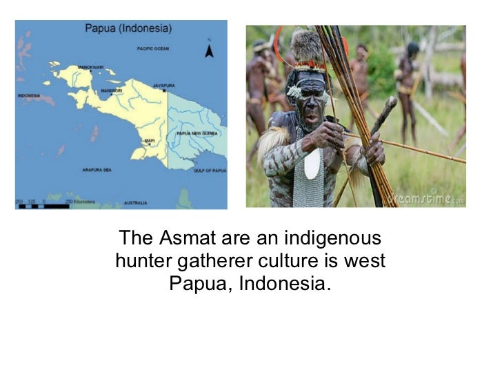 The Asmat are an indigenous hunter gatherer culture is west Papua, Indonesia.