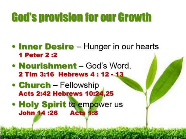 christian growing