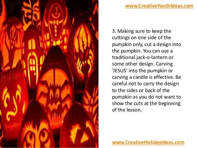 Christian Icebreakers - Like a Halloween Pumpkin