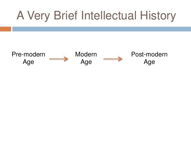 pre modernism