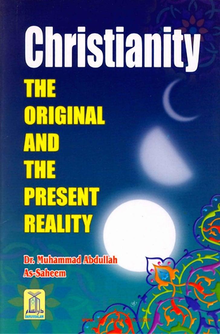 ﺍﻗــﻊ ﺍﻟ ـل َـﺔ - ﺍﻷ ﺍﻟﻨﹶﺼﺭﺍﻨ     ﺼ ﻭ ﻭ             ﻴChristianityThe Original and the Present Reality