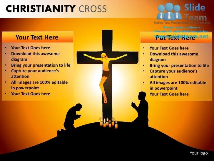 Christianity cross jesus christ powerpoint ppt templates 8 christianity cross toneelgroepblik Choice Image