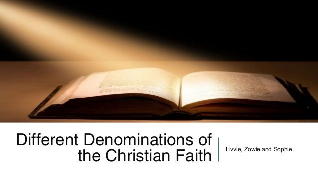 why are there different denominations