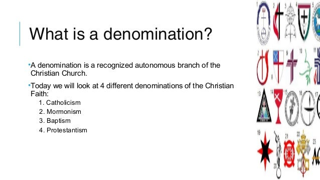 Charming [1]; 3. What Is A Denomination?