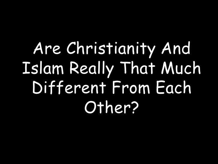 Christians and muslims responded differ
