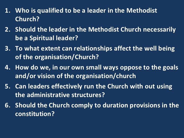 spiritual qualifications for leadership Liberty theological seminary biblical qualifications for when explaining the biblical qualifications of a church leader one must first spiritual leadership:.