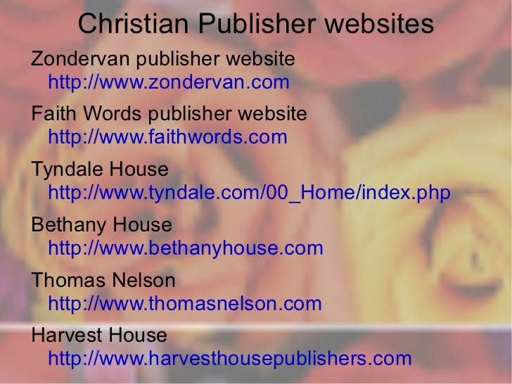 christian websites for young adults