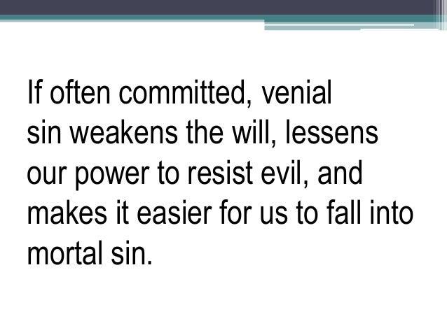 venial sins