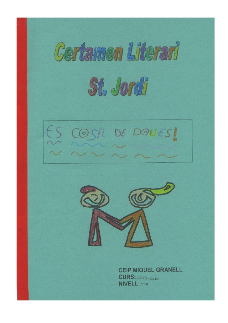Hi havia una vegada un nen de sis anys que es deia Jordi.  Vivia amb els seus avis des d' els 3 anys , ja que els seus par...