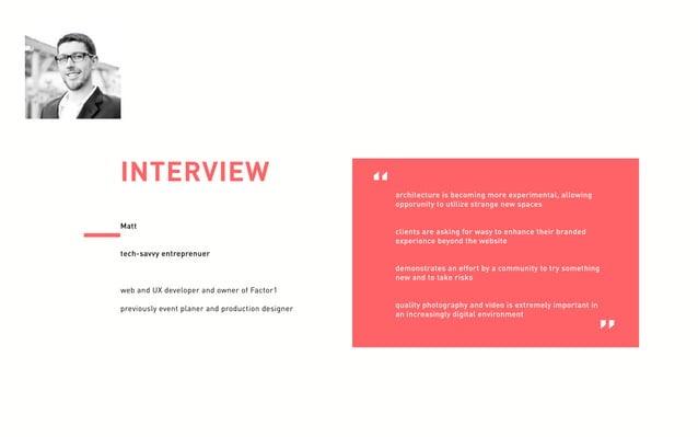 Experiential Visual Design - Qualitative Research
