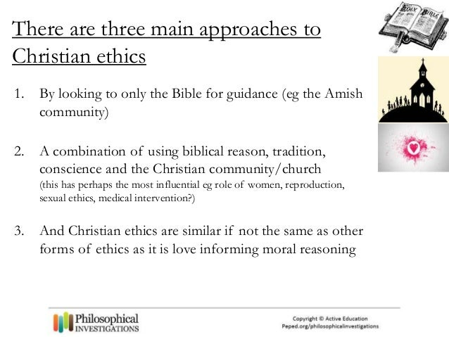 characteristics of christian ethics