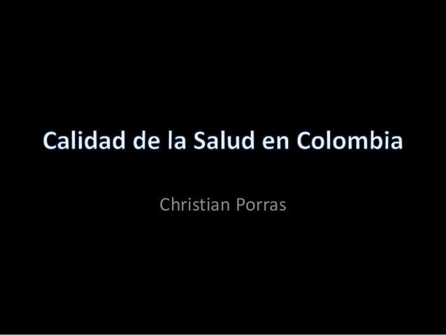 Christian Porras