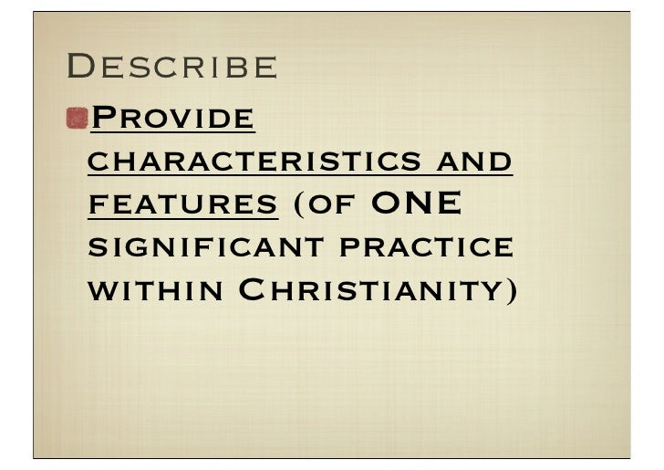 features of baptism essay The seven catholic sacraments the essay on the sacrament of baptism current affairs jasper jones language features photovoltaics essay.