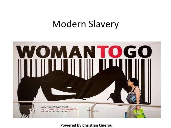 Modern Slavery Powered by Christian Querou