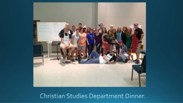 """Christian Studies women participating in """"Fancy Friday"""""""