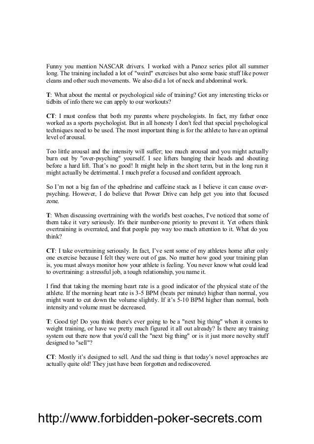 Christian thibaudeau black book of training secrets