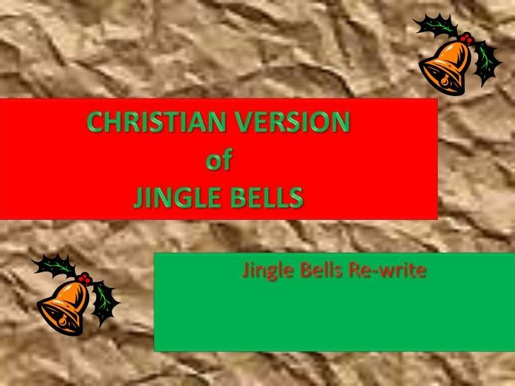 Christian version of jingle bells