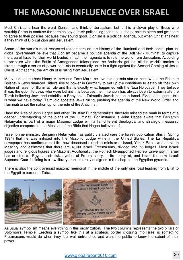 Christian Zionism Freemasonry