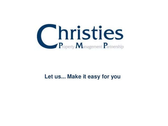 Let us... Make it easy for you