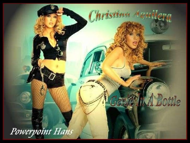 Christina Aguilera Genie In A Bottle