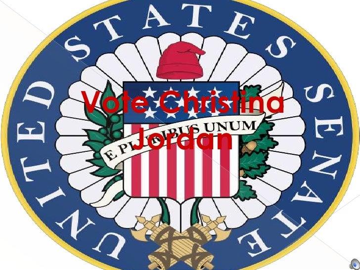 Vote Christina Jordan <br />