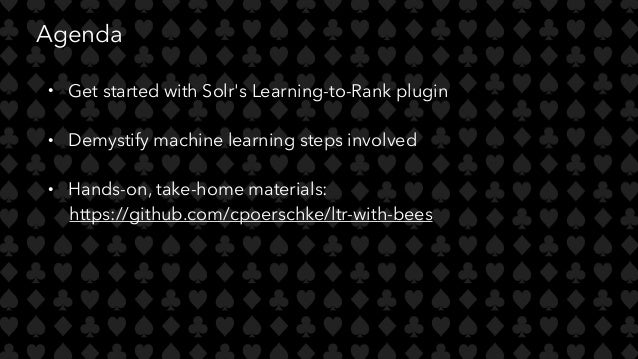 Learning-to-Rank with Apache Solr & Bees - Christine Poerschke, Bloom…