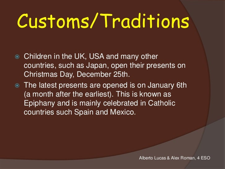 Christmas ppt for Top 10 christmas traditions in america