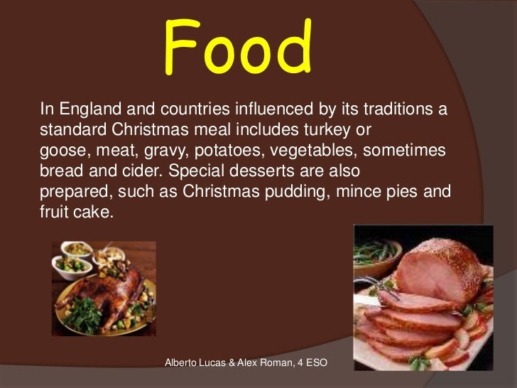 Christmas ppt 12 foodin england and countries influenced by its traditions astandard christmas sciox Image collections