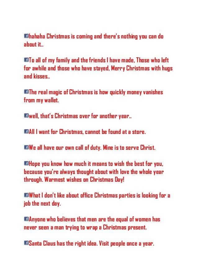 4 hahaha christmas