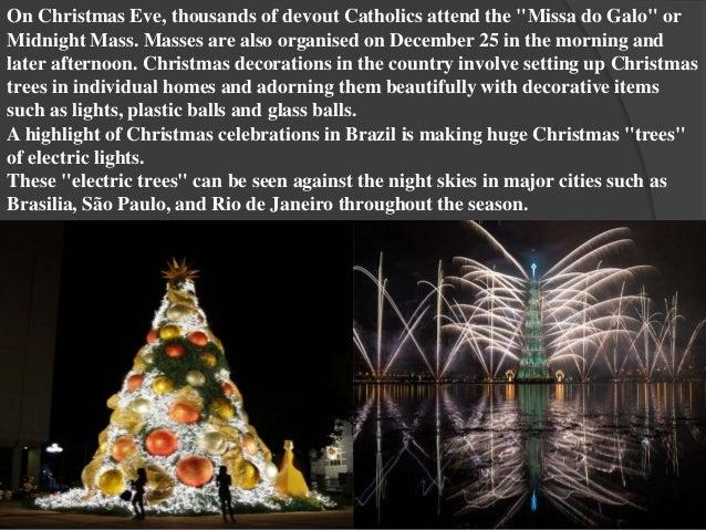 Brazil Christmas Traditions.Christmas In Brazil