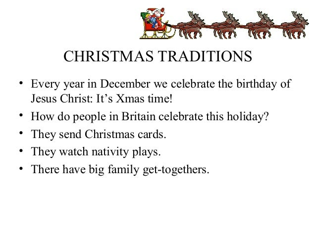 christmas traditions - How Many People Celebrate Christmas