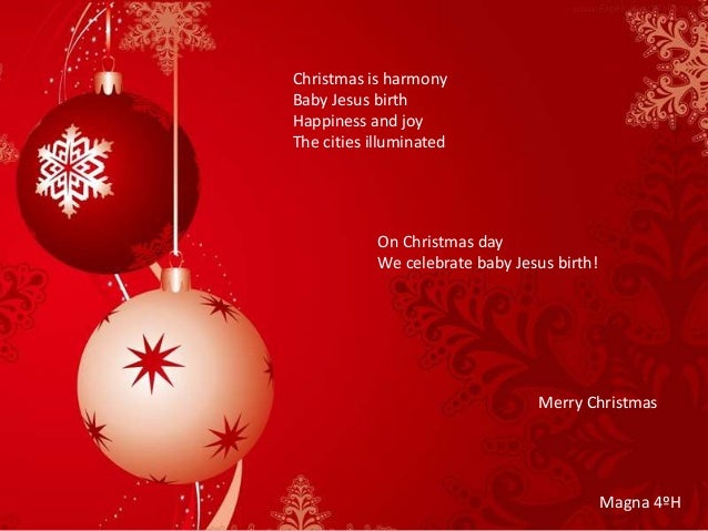 Christmas Poems About Jesus 6