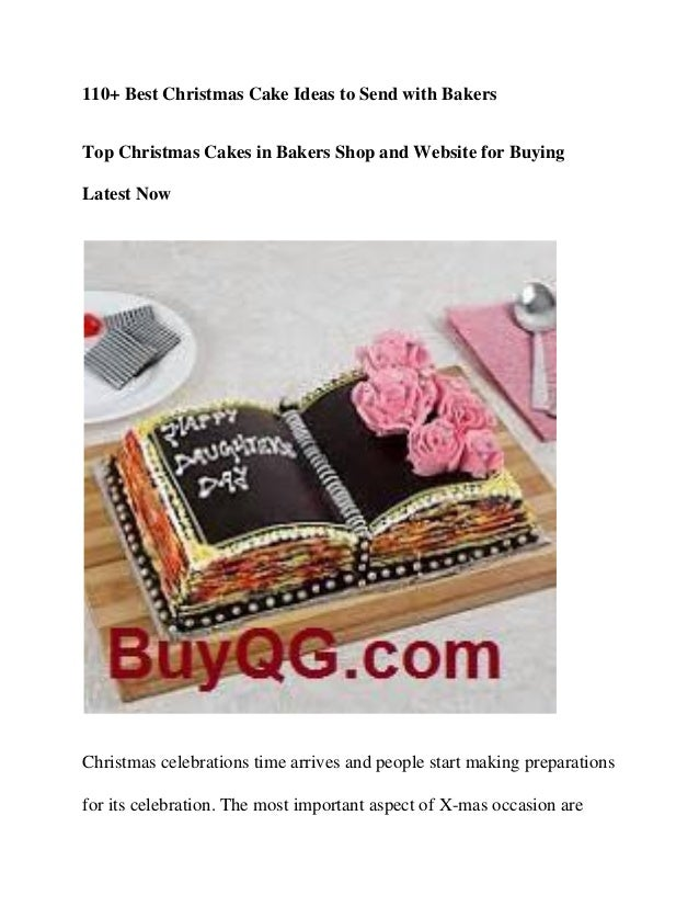 110+ Best Christmas Cake Ideas to Send with Bakers Top Christmas Cakes in Bakers Shop and Website for Buying Latest Now Ch...
