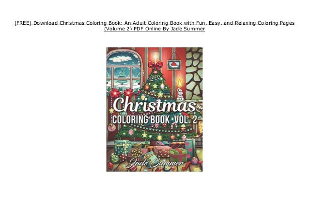 - FREE] Download Christmas Coloring Book: An Adult Coloring Book With …
